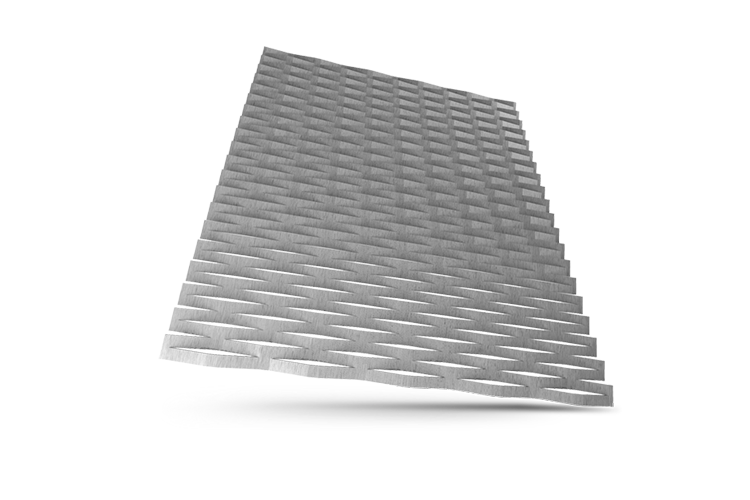 Expanded metal meshes